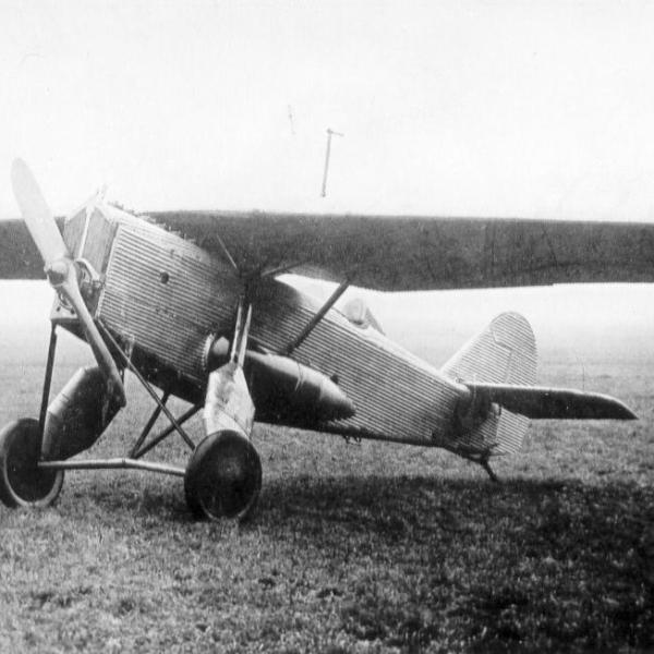 1.Опытный самолет Т21