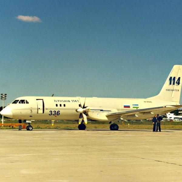 1.Первый экземпляр Ил-114Т.