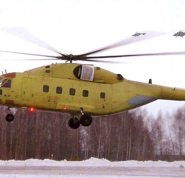 1.Первый полет вертолета Ми-38. Казань 22.12.2003 г.