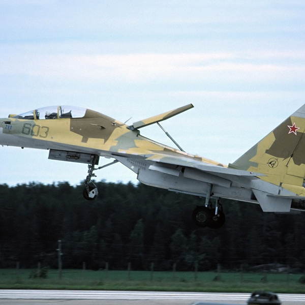 1.Су-30 борт № 603.