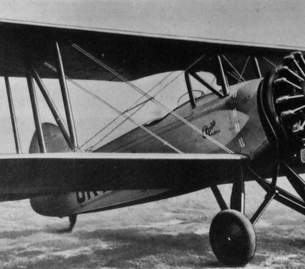 1.Учебно-тренировочный самолет Avia B-122.