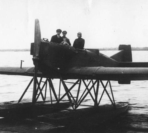 1.Ю-20 Гидросамолет-разведчик.