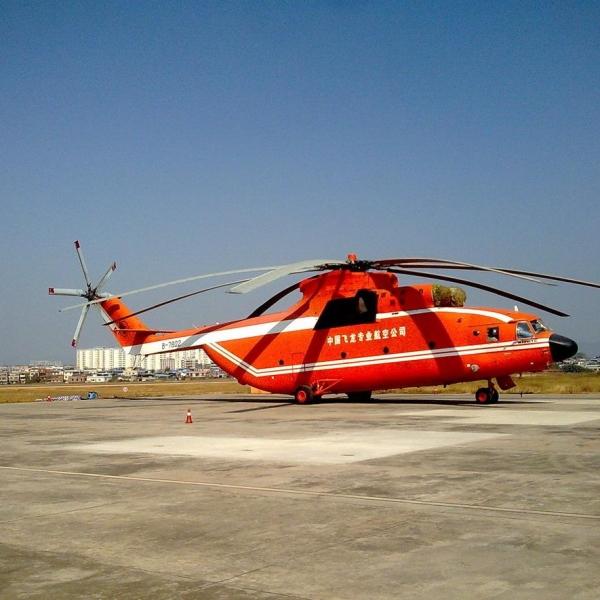 10.Ми-26ТС китайской компании China Flying Dragon Special Aviation.
