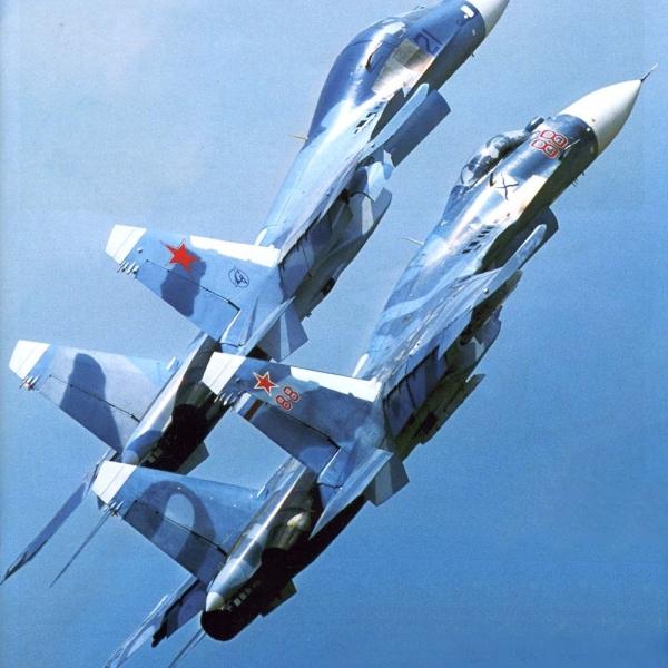 10.Су-33КУБ в паре с Су-33.