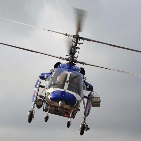 11.Ка-226 МВД России в полете.