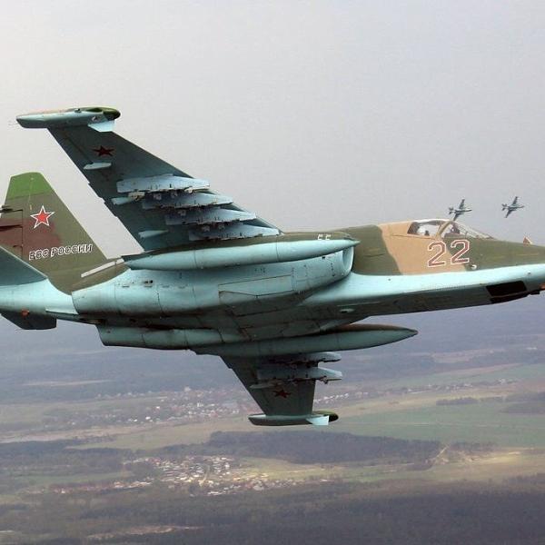 11.Су-25СМ в полете.