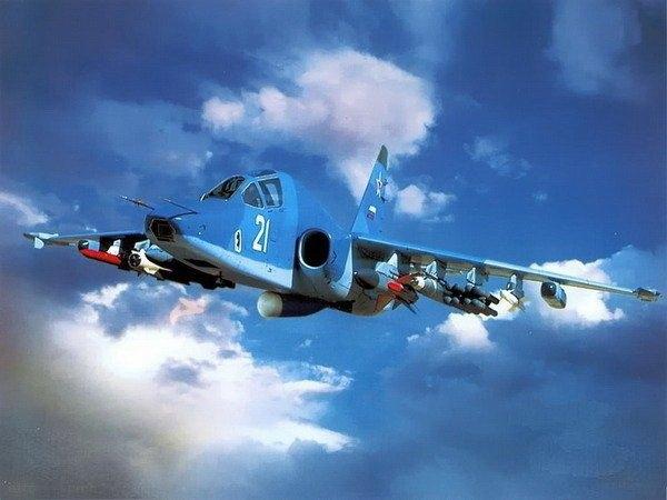 11а.Су-39 в полёте.