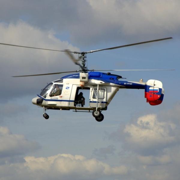 15.Ка-226 Пограничной службы в полете.