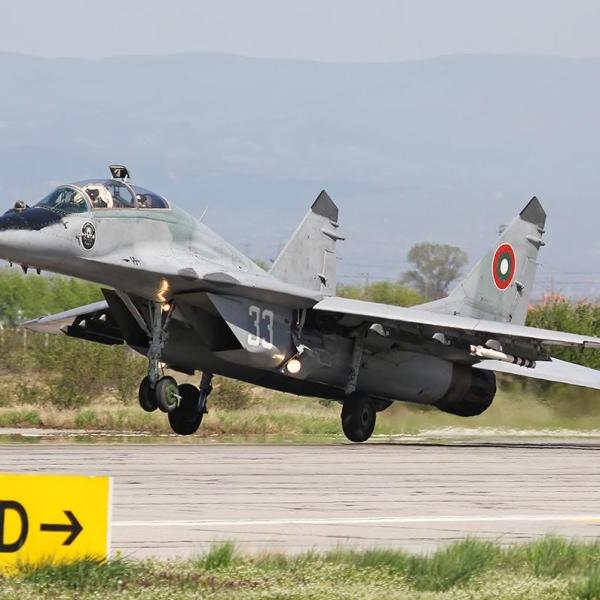 15.МиГ-29УБ ВВС Болгарии.