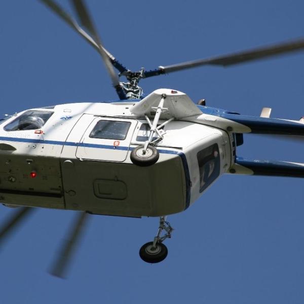 17.Ка-226 Пограничной службы в полете.
