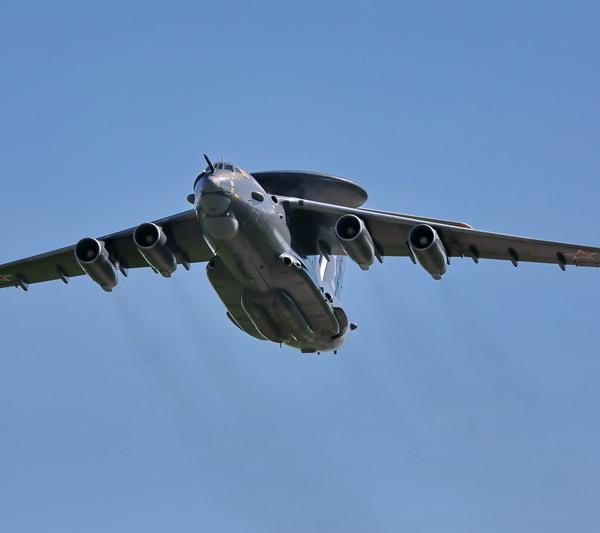 1б.А-50У в полете.