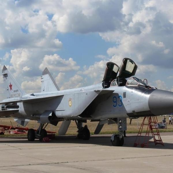 2.Истребитель МиГ-31БМ