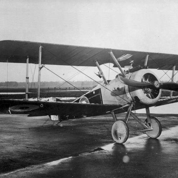 2.Истребитель Sopwith F.1 Camel ВВС Англии.