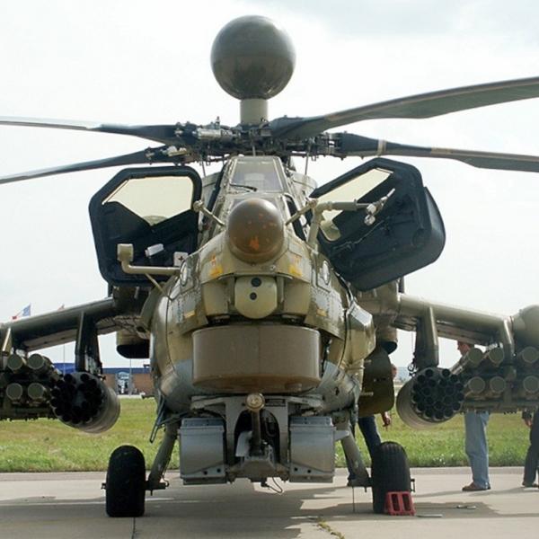 2.Ми-28Н. Вид спереди.
