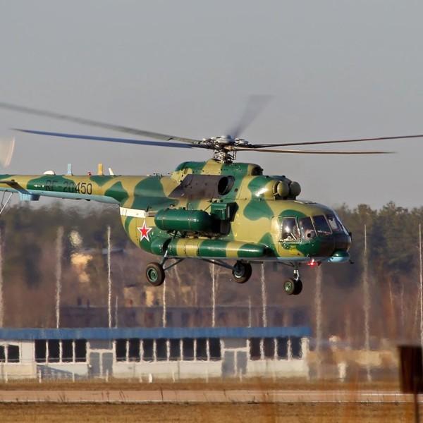 2.Ми-8АМТ Пограничной службы России.