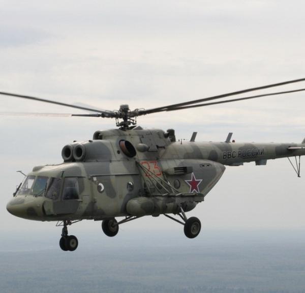 2.Ми-8АМТШ Терминатор в полете.