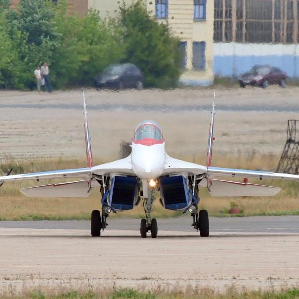 2.МиГ-29ОВТ бортовой № 156.