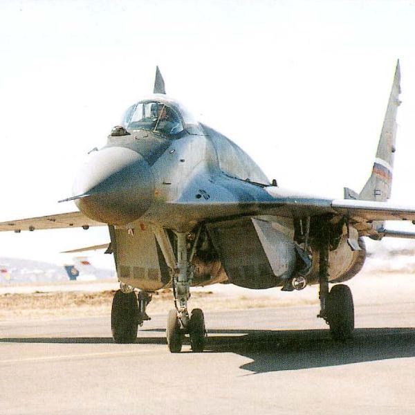 2.Опытный МиГ-29СМ.