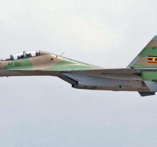 2.Су-30МК2 ВВС Уганды.