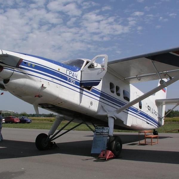 2.Транспортный самолет Т-101 Грач.