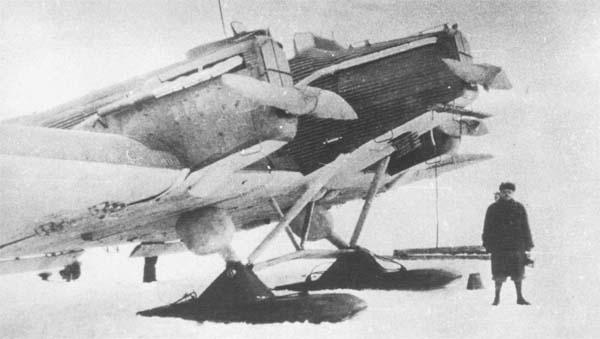 2.ЮГ-1 на лыжном шасси.