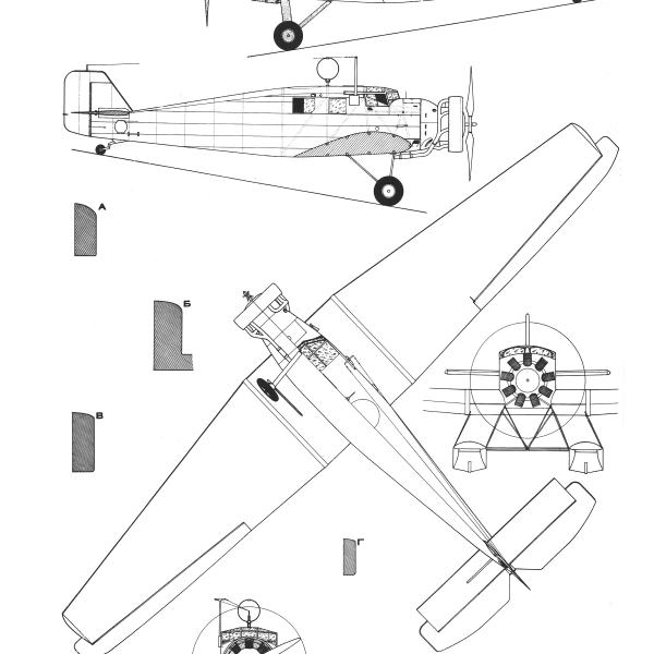 22.ПС-4 (W-34). Схема.
