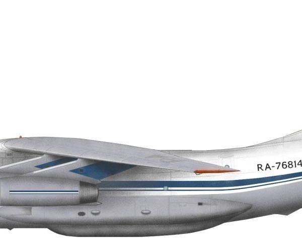 23.Ил-76ТД. Рисунок.
