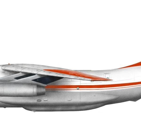 24.Ил-76ТД Аэрофлота. Рисунок.