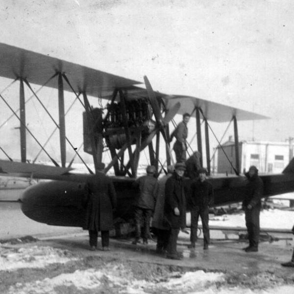 2а.Летающая лодка S-16bis из состава Красного флота.