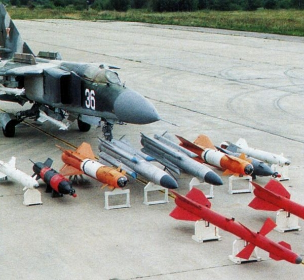 3.Арсенал МиГ-23-98.