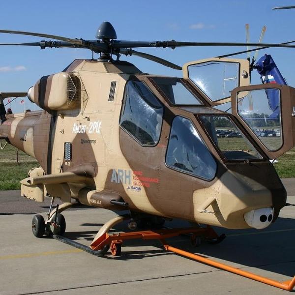 3.Легкий ударный вертолет Ансат-2РЦ.