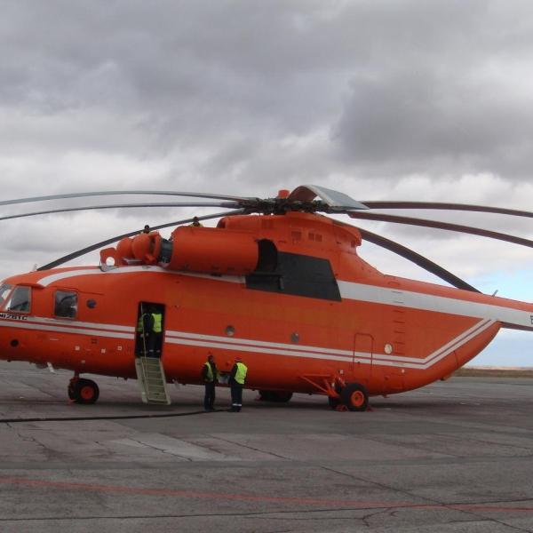 3.Ми-26ТС на стоянке.