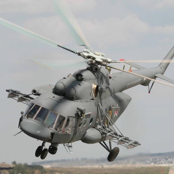 3.Ми-8АМТШ Терминатор в полете.