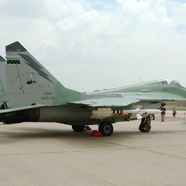 3.МиГ-29Н ВВС Малайзии, авиабаза Ахмед Шах, 2007 г
