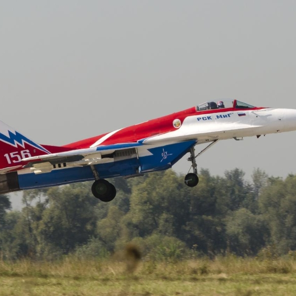 3.МиГ-29ОВТ бортовой № 156.
