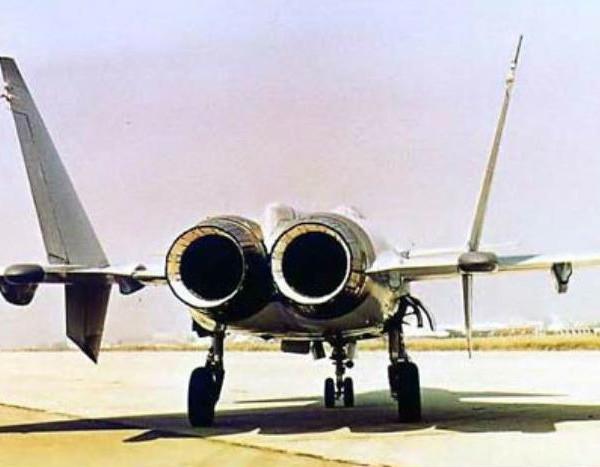 3.Опытный истребитель МиГ-1.44 (МФИ)