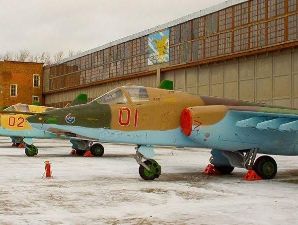 3.Первая партия Су-25СМ до дворе 121-го АРЗ
