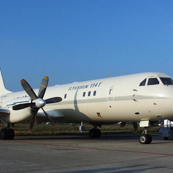 3.Первый экземпляр Ил-114Т.