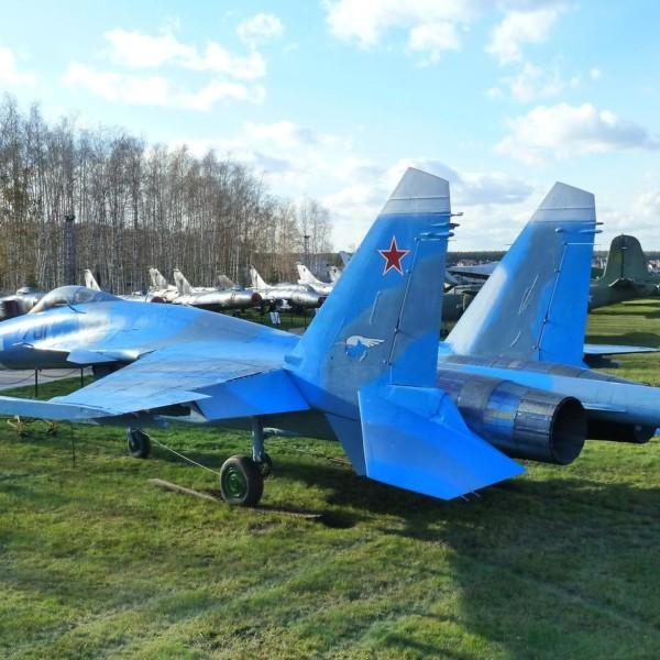 3.Первый опытный Су-35 борт № 701 в музее ВВС Монино.