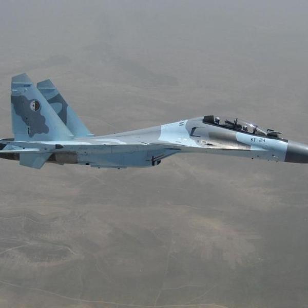 3.Су-30МКА ВВС Алжира в полете