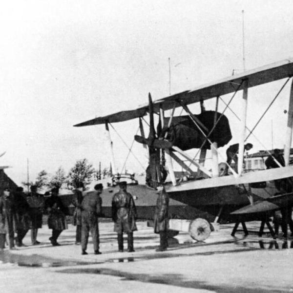 3е.МБР-4 обного из авиаотрядов морской авиации Балт.флота. 1935 г.