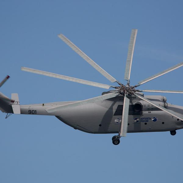 4.Ми-26Т2 в полете.