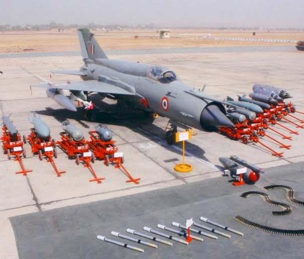 4.МиГ-21-93 (MiG-21 Bison). ВВС Индии.