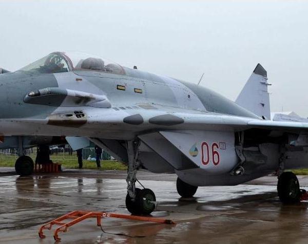 4.МиГ-29СМТ на авиавыставке