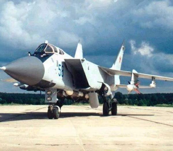 4.МиГ-31ФЭ.