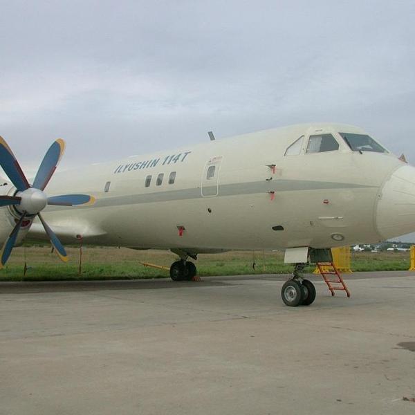 4.Первый экземпляр Ил-114Т.