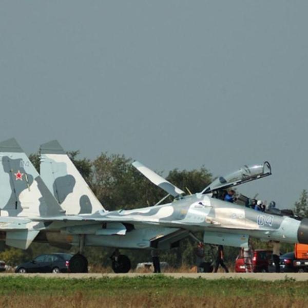 4.Су-30К ВВС РФ.
