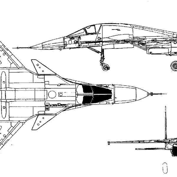 4.Су-32. Схема.