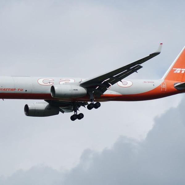 4.Ту-204С заходит на посадку.