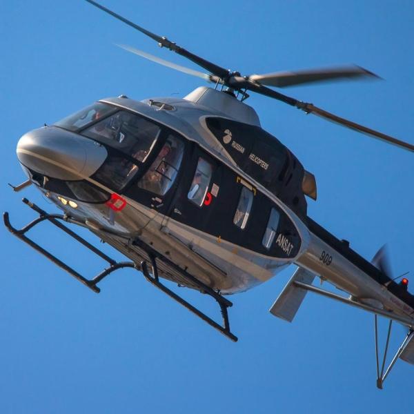 4.Вертолет Ансат в полете.